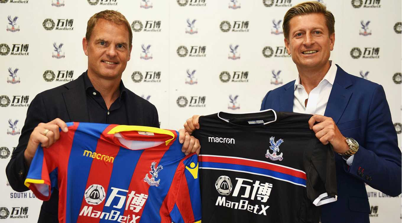 New Palace Boss, De Boer: Our Target Is To Be Strong EPL Team, Not Relegation Strugglers