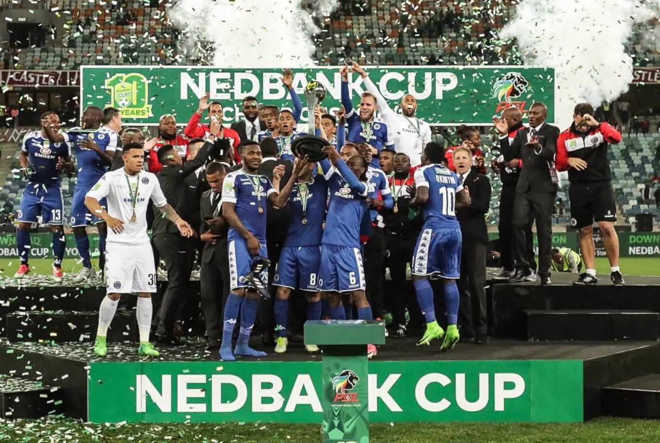 Bafana Coach Baxter Wins South African FA Cup With SuperSport United