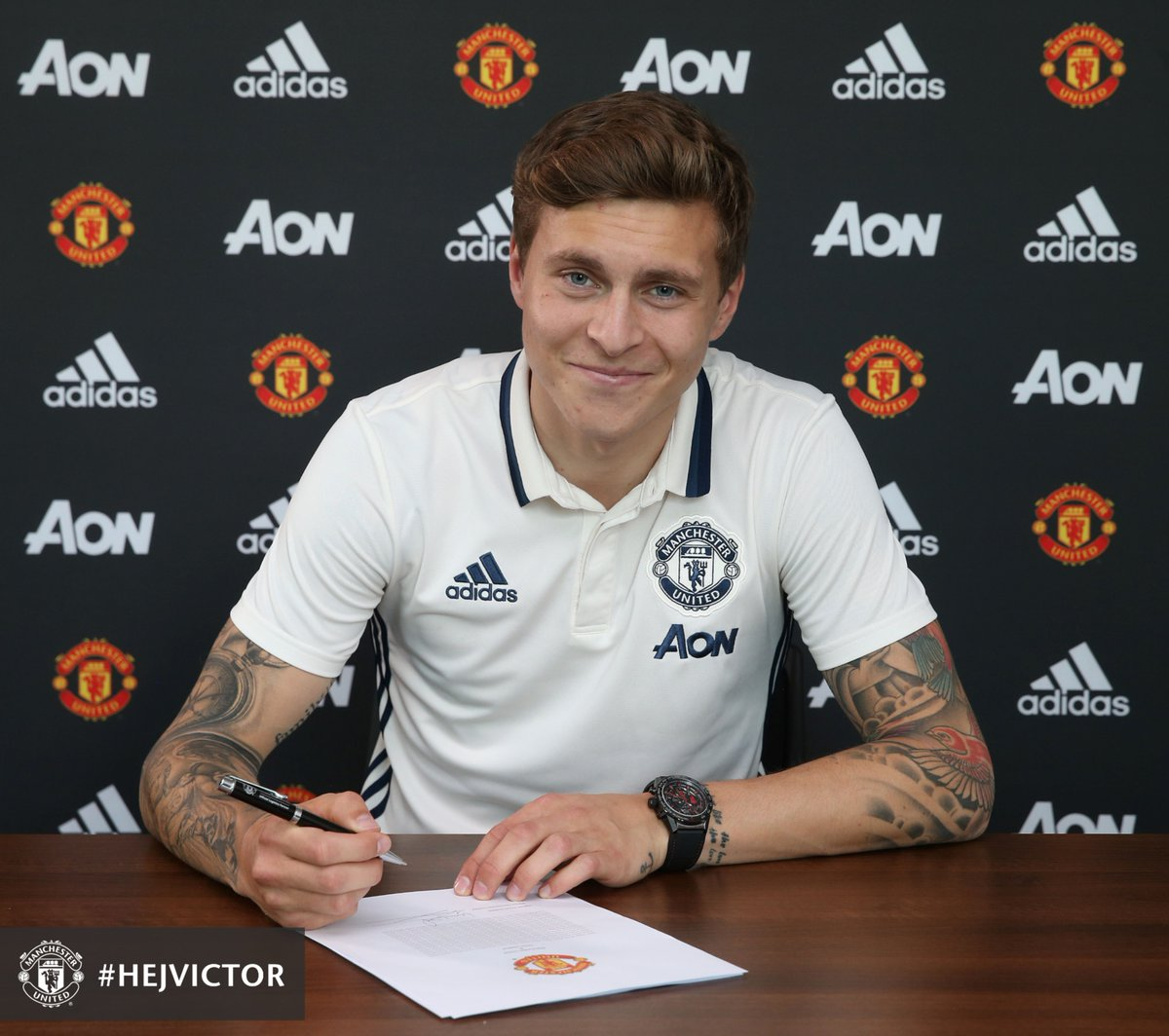 Man United Complete £31m Lindelof Signing From Benfica