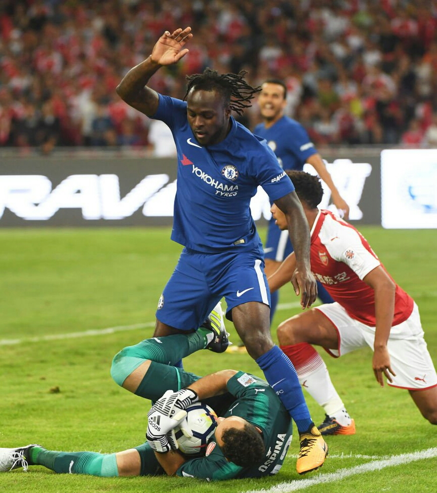 Moses Celebrates Return To Fitness After Chelsea Win Vs Arsenal