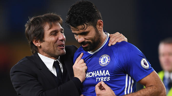 Conte: Costa's Chelsea Exit Was Decided In January
