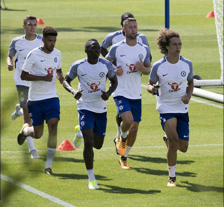 ​Loan Man Omeruo, Moses Train With Chelsea