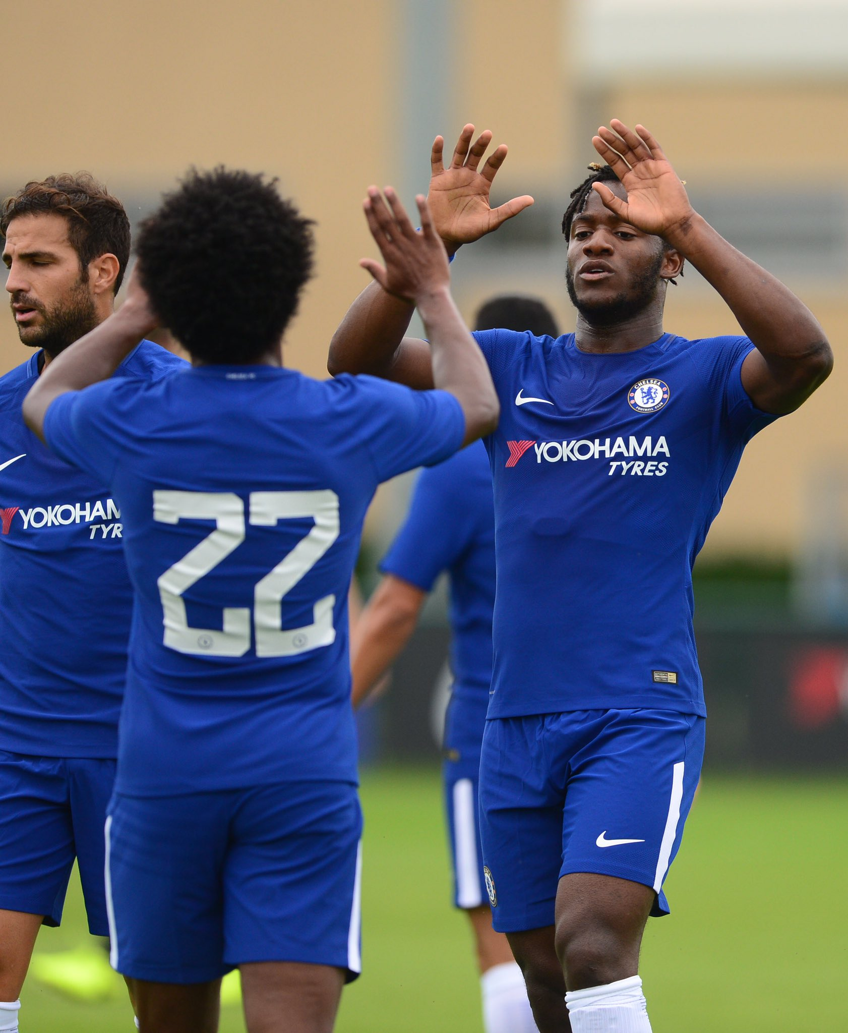 Moses Returns As Chelsea Thrash Aluko's Fulham In Friendly