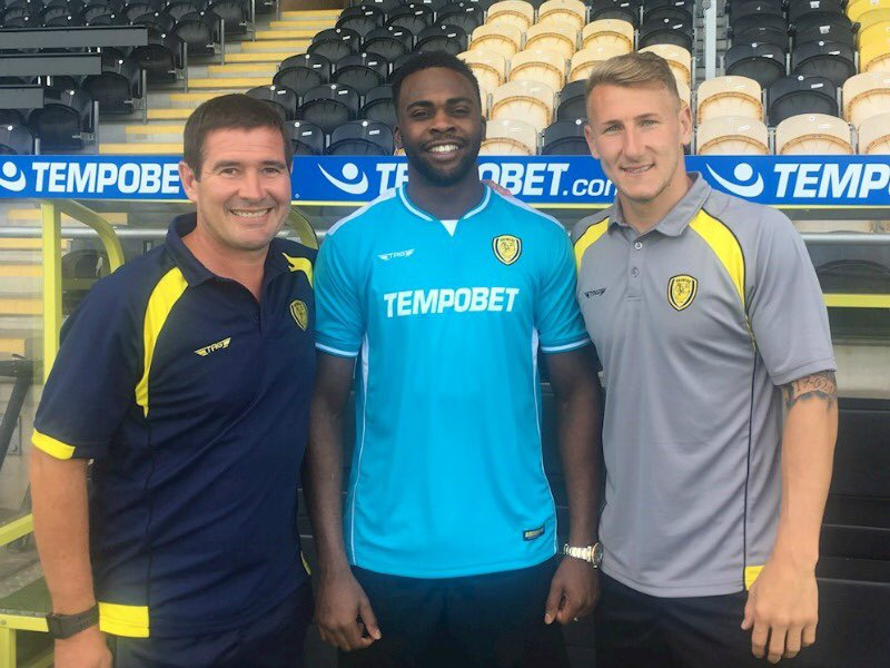 Hope Akpan Delighted With Burton Albion Move