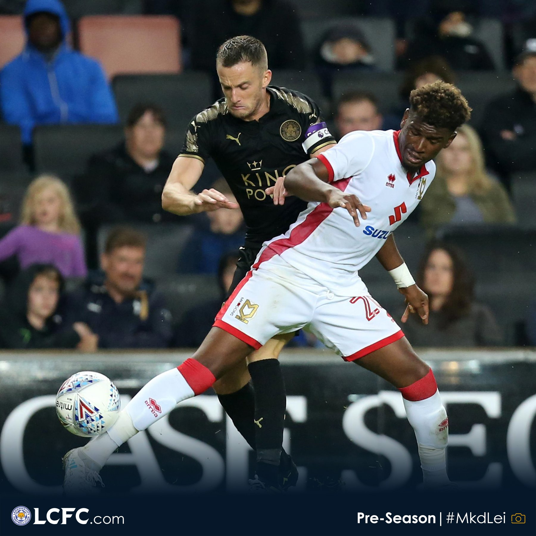 Ndidi Out, Musa Benched As Leicester Struggle Vs MK Dons
