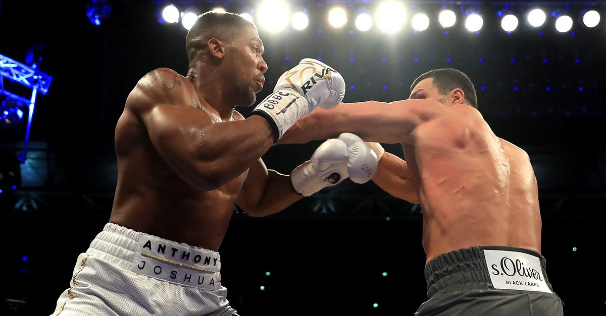 Joshua Rematch With Klitschko Gets Date, Venue