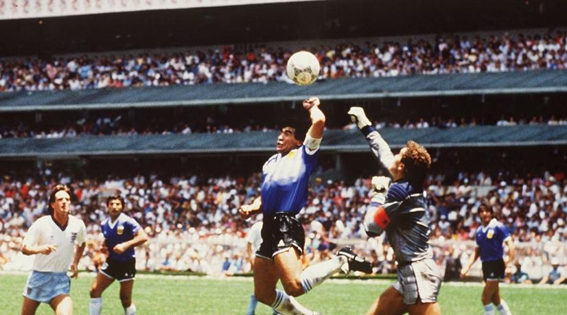 Maradona: VAR Would Have Ruled Out My 'Hand Of God' Goal