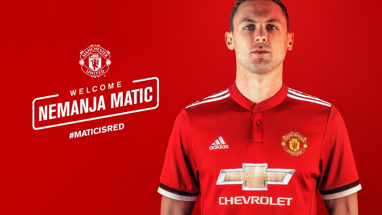 Man United Confirm £40m Matic Signing From Chelsea
