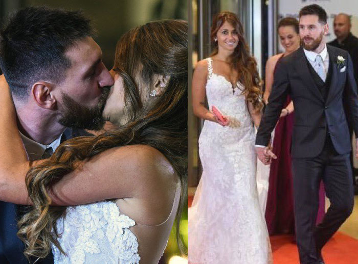 IT'S A GOAL: Messi Finally Marries Childhood Sweetheart Antonella
