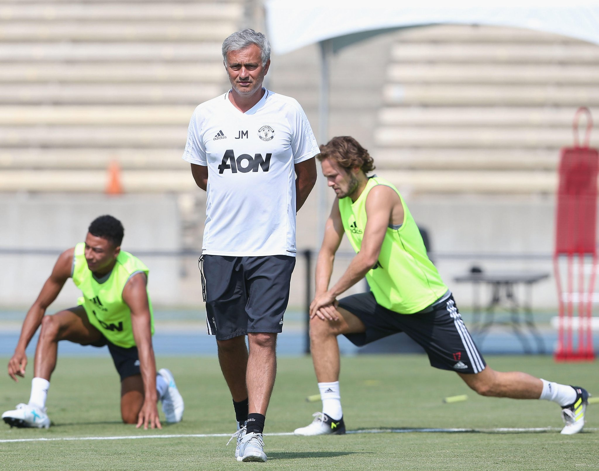 Mourinho Opens Up On Transfer Targets, Title Race, Chicharito, Bailly, Barca Clash