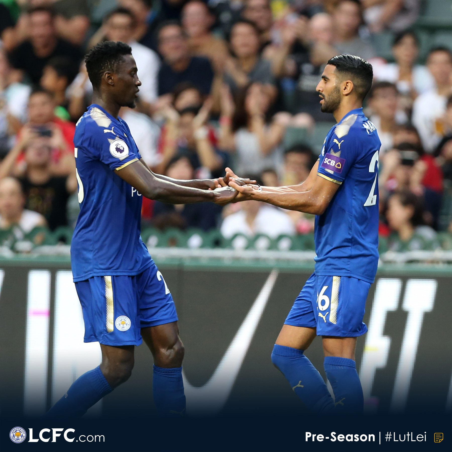 "Ndidi ""Sad"" After Leicester's Friendly Defeat To Wolves"