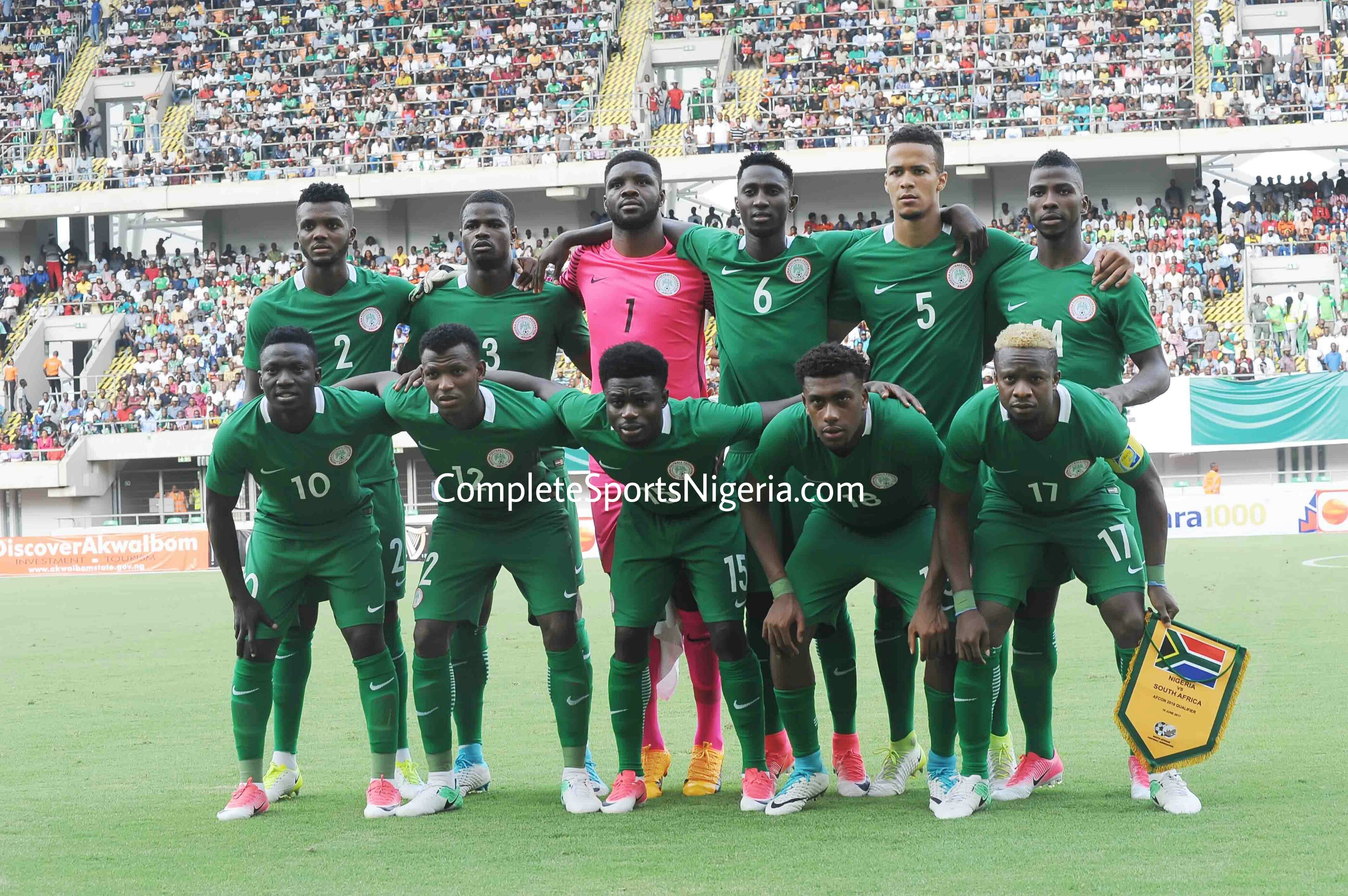 Super Eagles Squad For Cameroon Clashes Out In Two Weeks