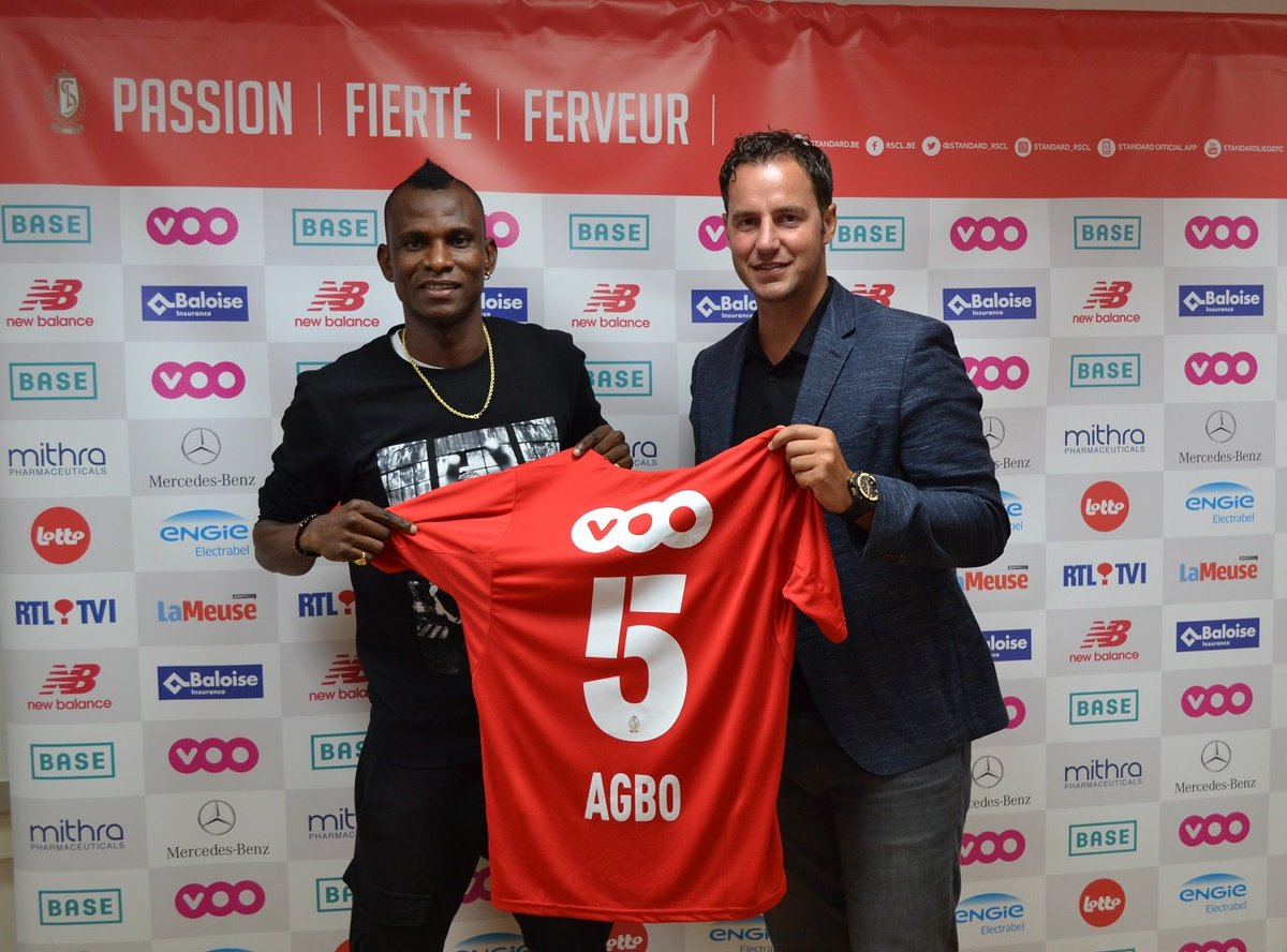 Agbo Joins Standard Liege On Loan From Watford, Gets Jersey Number 5