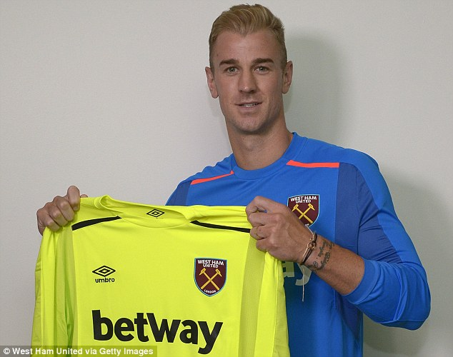 West Ham Sign Hart From Man City