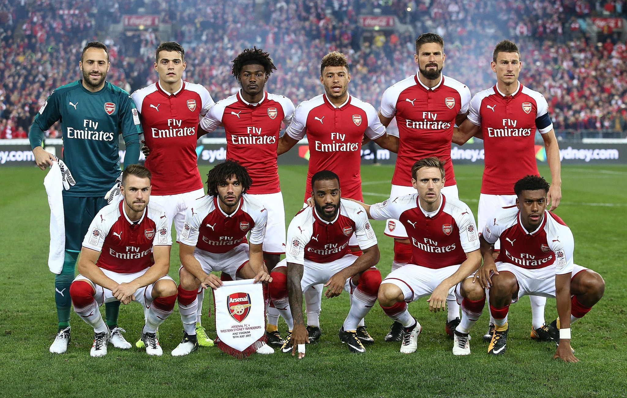 Pre-Season: Iwobi, Lacazette Start As Arsenal Beat Western Sydney Wanderers