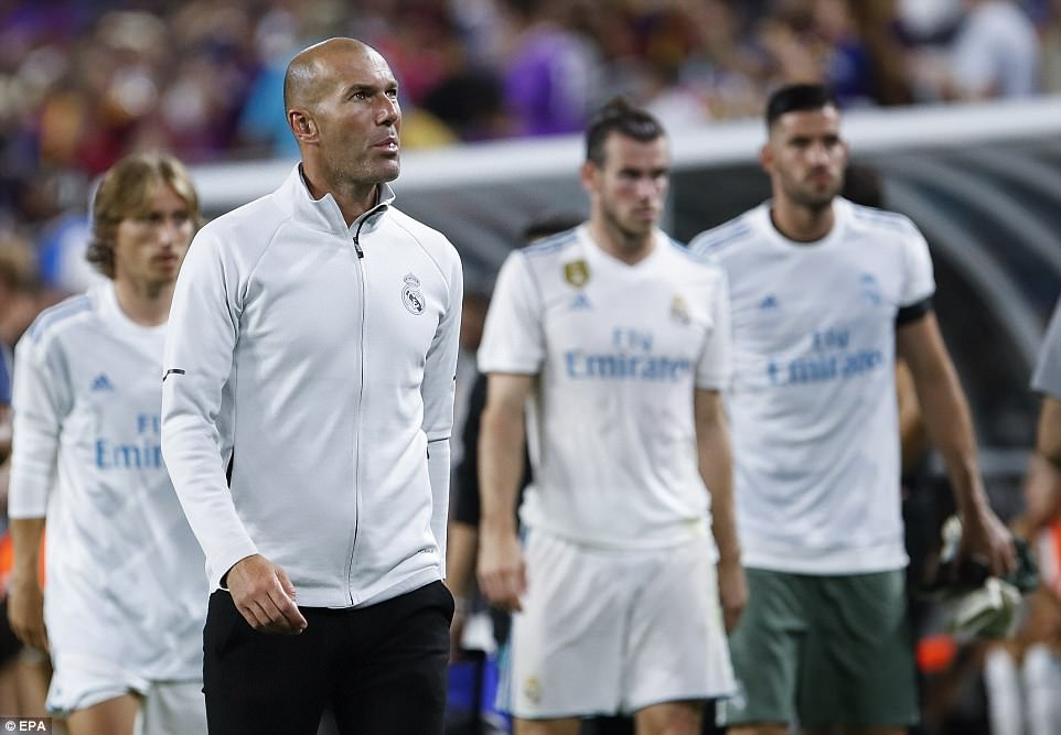 Zidane Focuses On Madrid's Super Cup Vs Man United, Plays Down Poor Showing At ICC