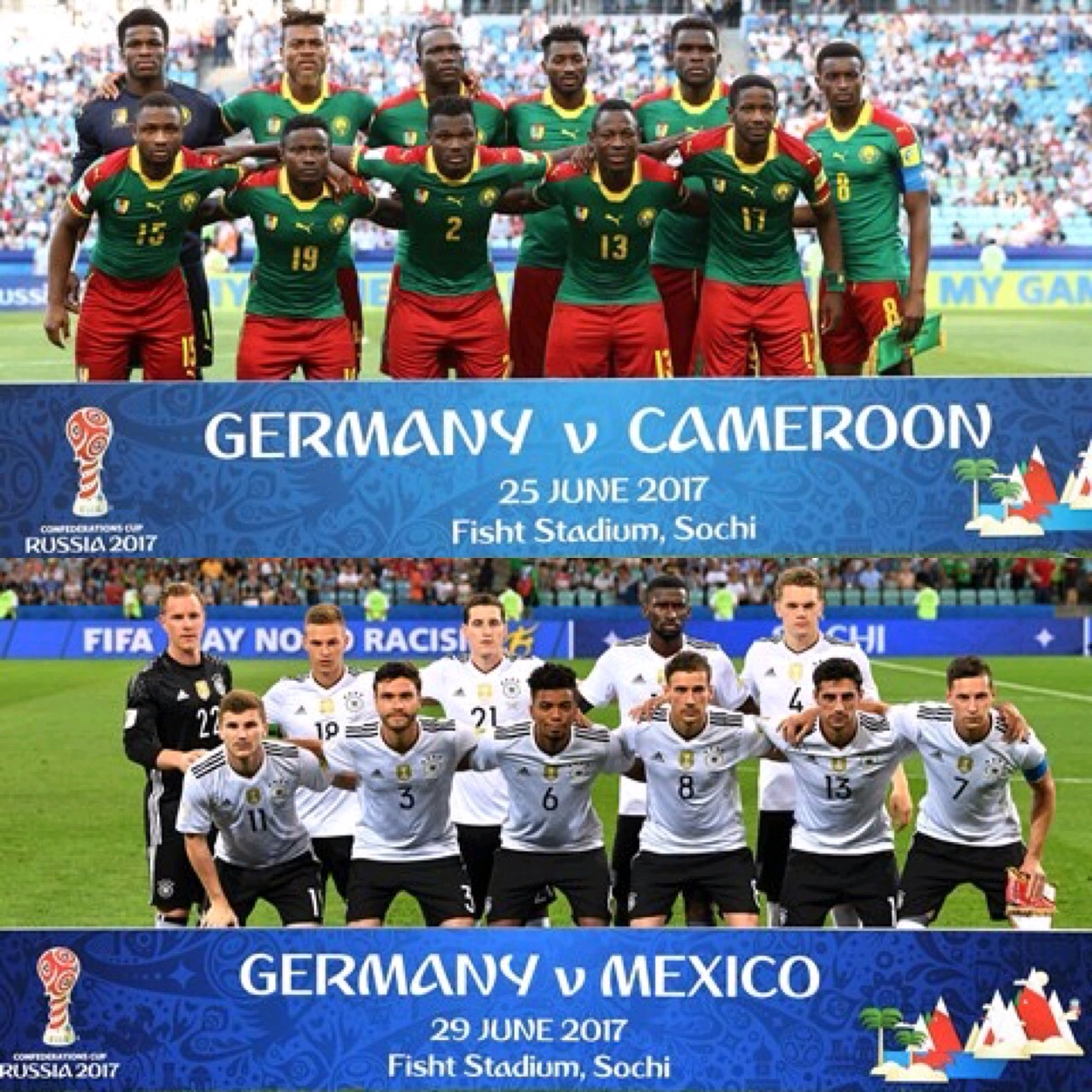 Odegbami: The FIFA Confederations Cup – Cameroun and Germany!