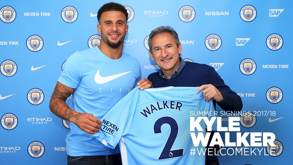 Walker Completes Man City Move From Spurs