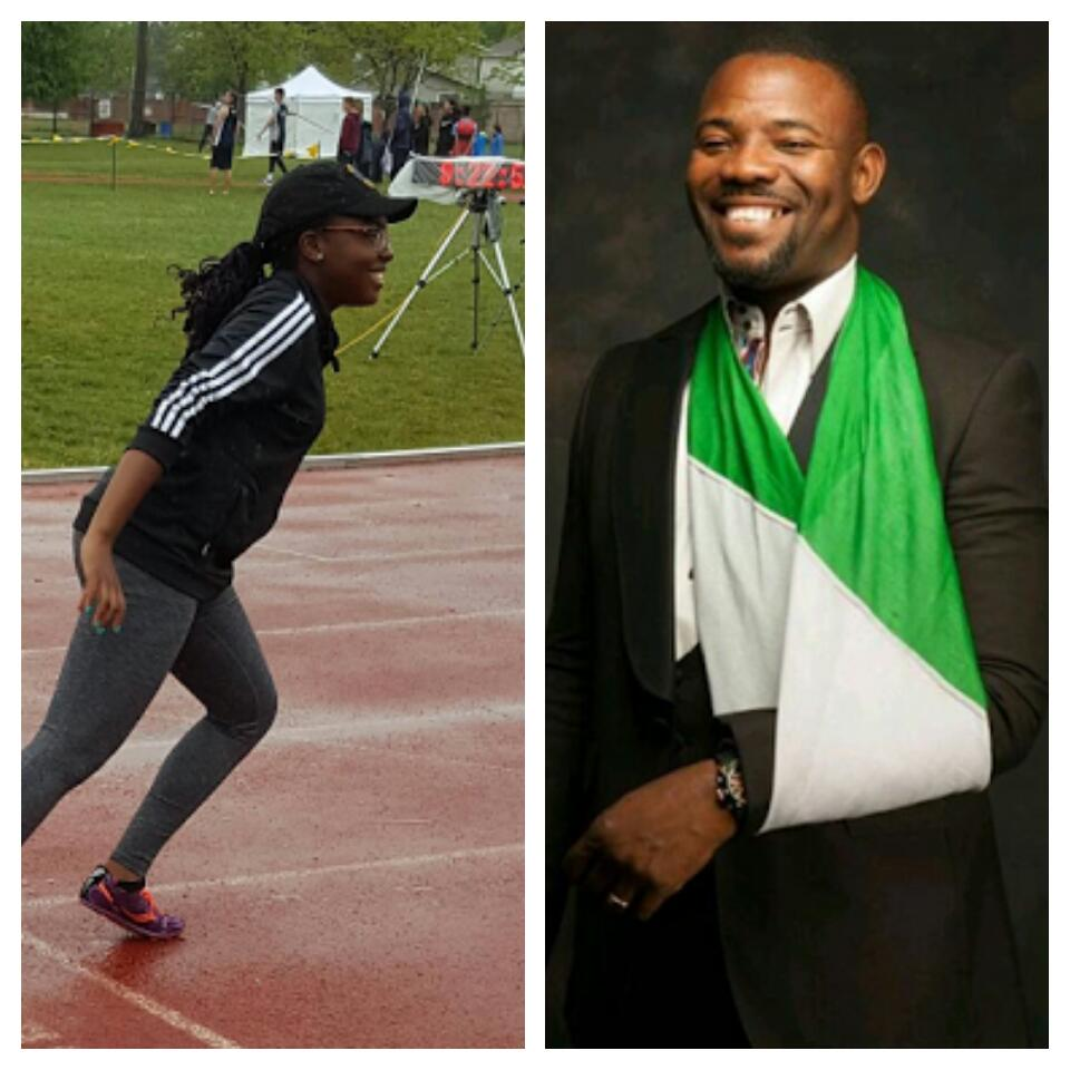 Bakassi: My Canada-Born Daughter Will Run For Nigeria Despite Poor Worlds Outing