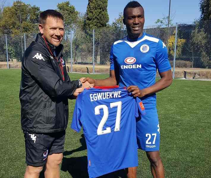 Egwuekwe Joins SuperSport United From Finland's Kuopion