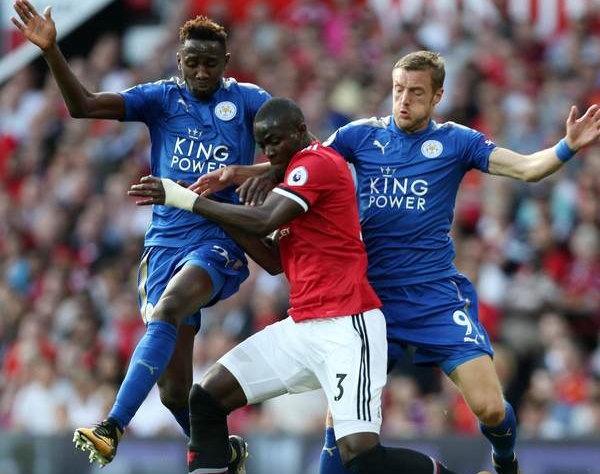 Ndidi In Action, Iheanacho Benched, Musa Dropped As Man United Beat Leicester