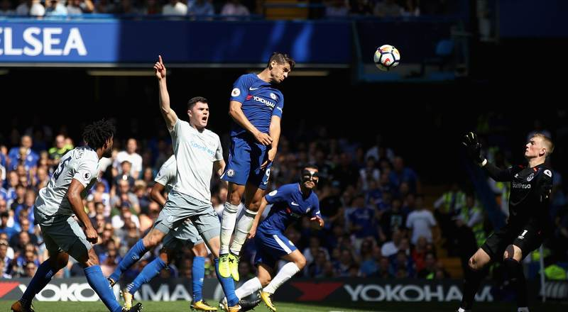 Moses Shines, Morata On Target As Chelsea Outclass Everton