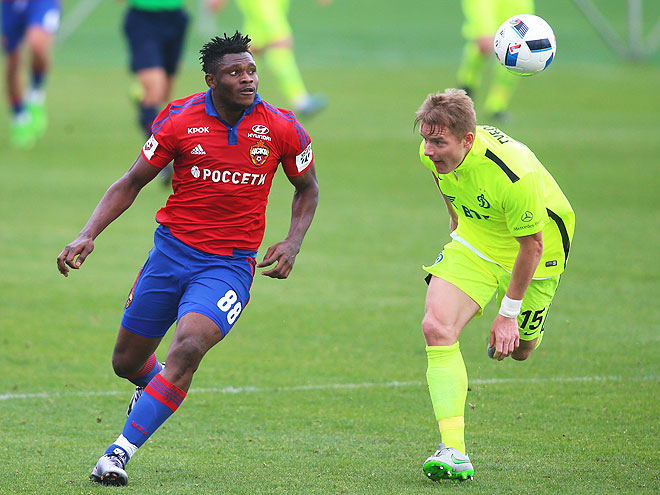 Samuel Confident CSKA Moscow Will Reach Champions League Group Stage