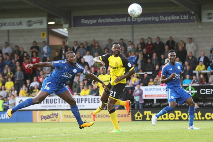 Akpan Happy To Score In Burton's Friendly  Win Vs Leicester City