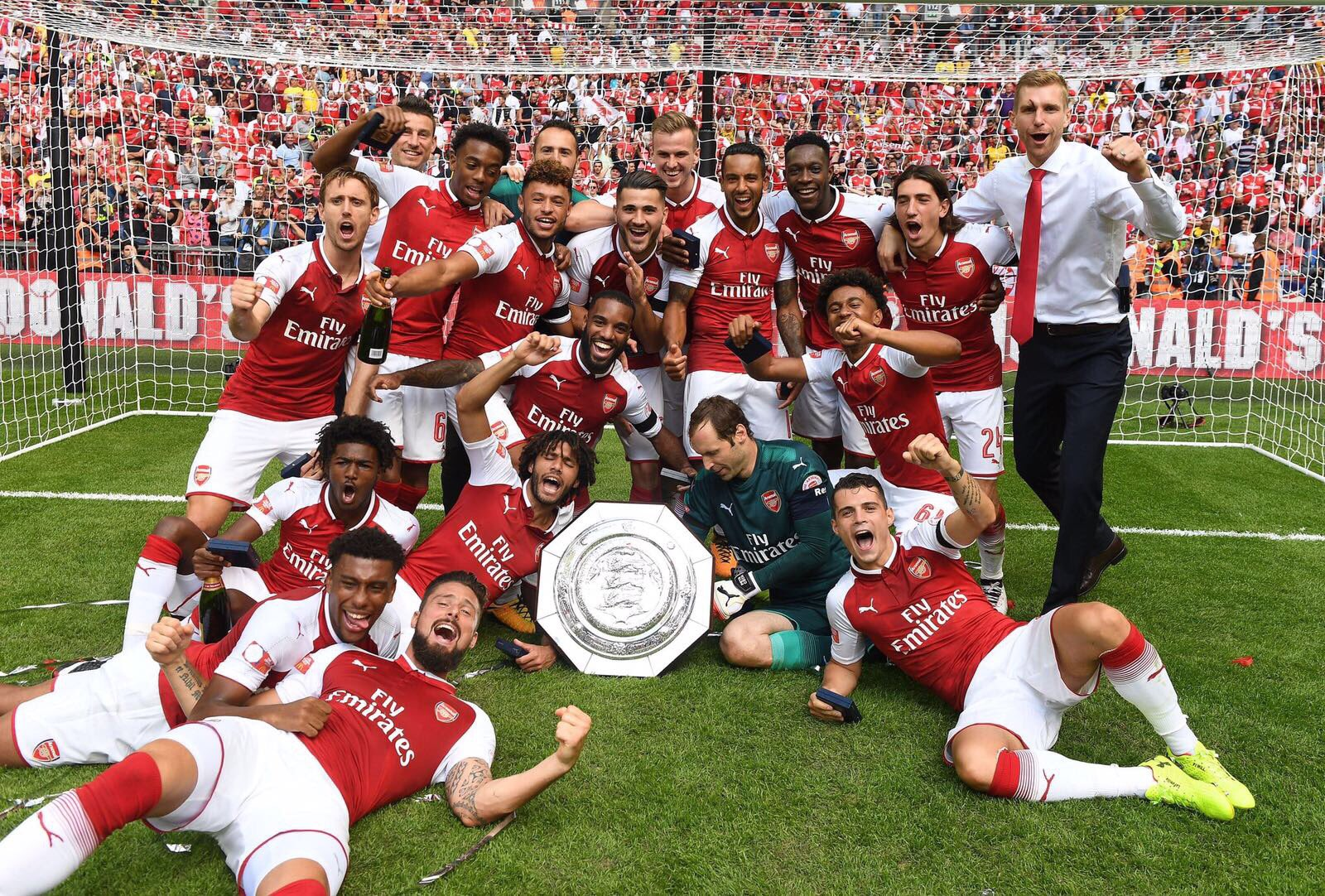 Iwobi Delighted To Start New Season With Community Shield Title, Wants Some More