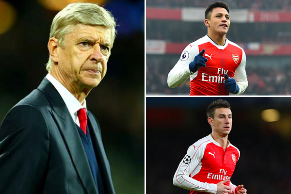 Wenger: Focused Sanchez, Koscielny Look Ready for Liverpool ‎Vs Arsenal