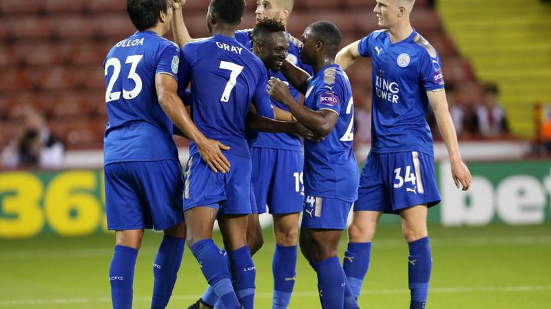 Musa Scores, Ndidi Stars As Leicester Edge Sheffield In Carabao Cup; Aina, Aluko Crash; Akpeyi Missing