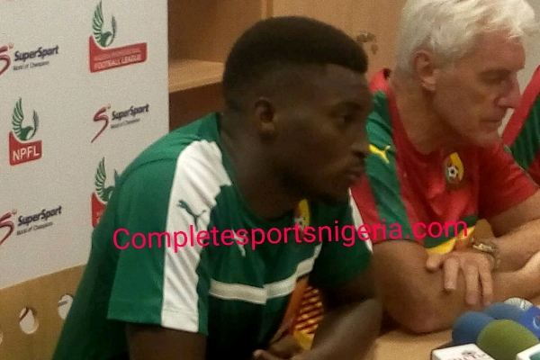 Cameroon Captain, Moukandjo: Confed Cup Experience keeps Lions Motivated For Russia Return