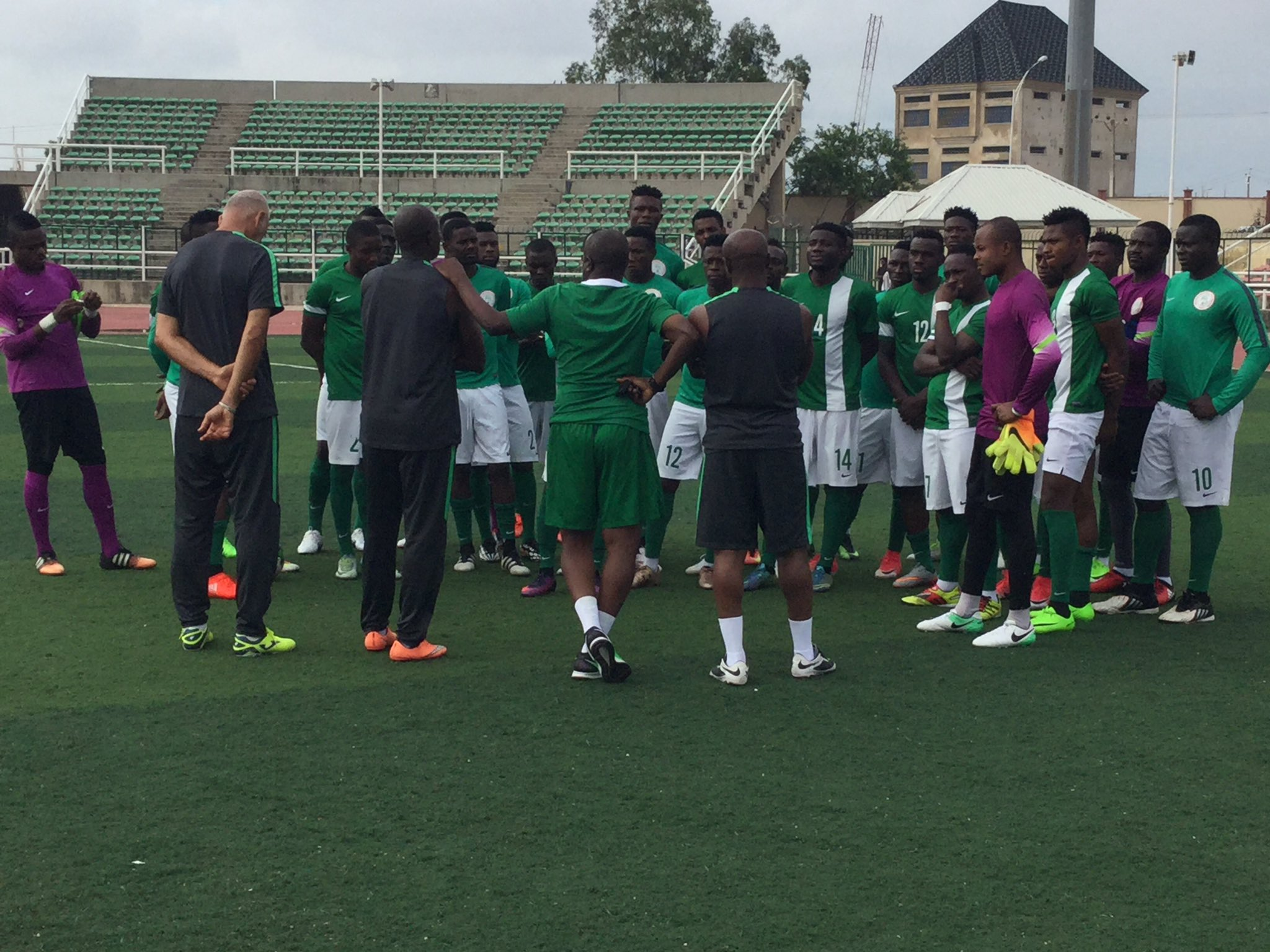 Eagles To Travel By Road To Benin Republic Friday For CHAN Qualifier