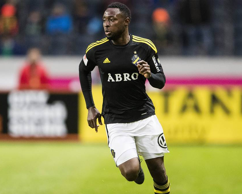 Obasi Injured, Doubtful For AIK Solna League Clash