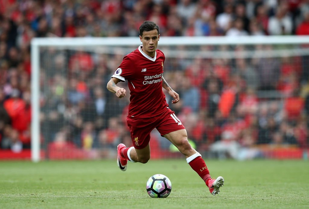 Coutinho Out of Liverpool's UCL Squad Vs Hoffenheim
