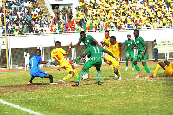 Erico Tips Home Eagles To Beat Benin To CHAN Ticket