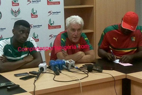 Cameroun coach, Broos: Our Experience Will Give Us The Edge Over Super Eagles