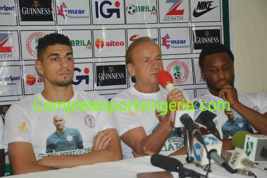 Rohr Delighted To Have Mikel, 'German Machine' Balogun Back