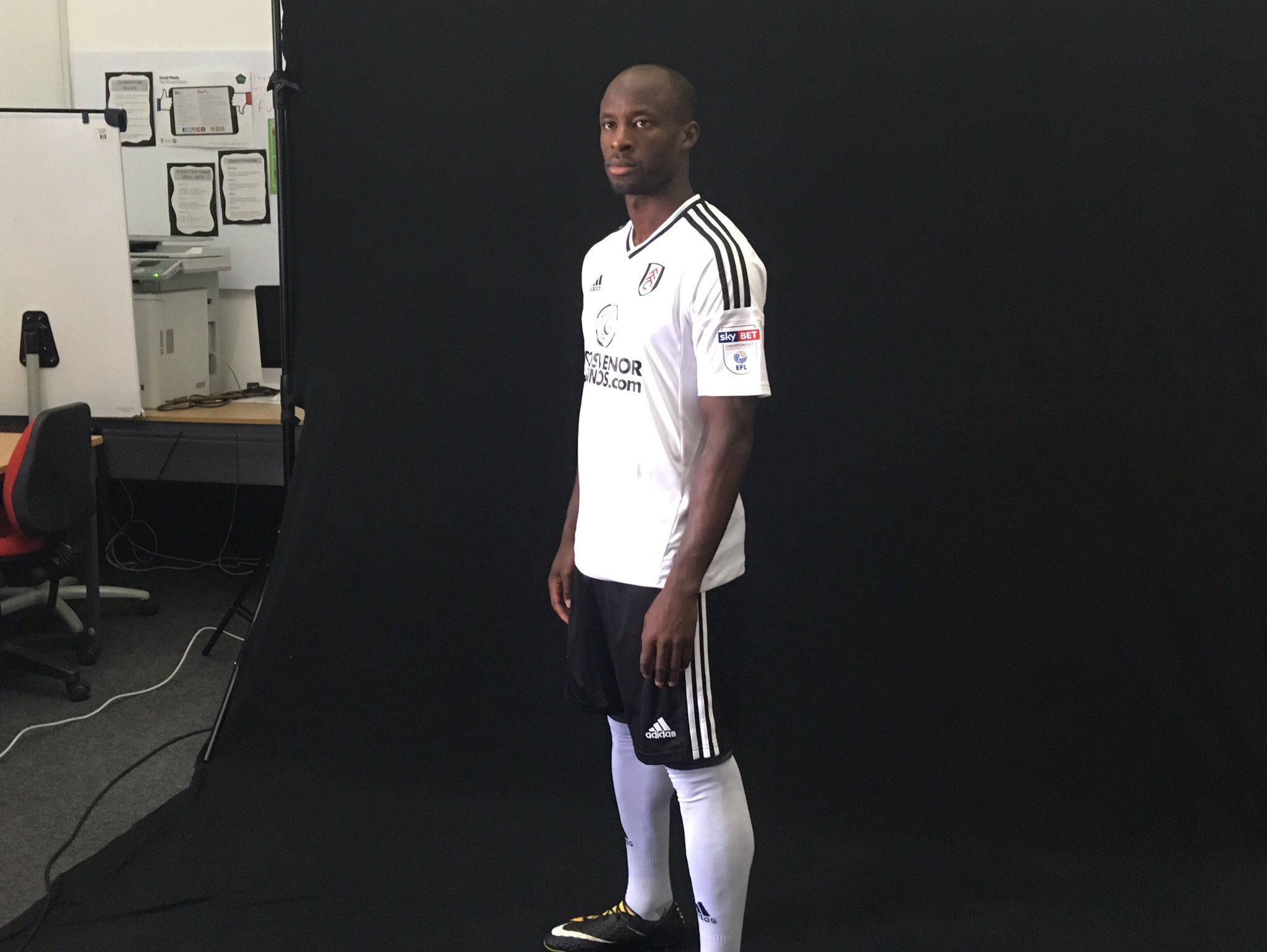 Aluko: Fulham Will Fight For Promotion To EPL