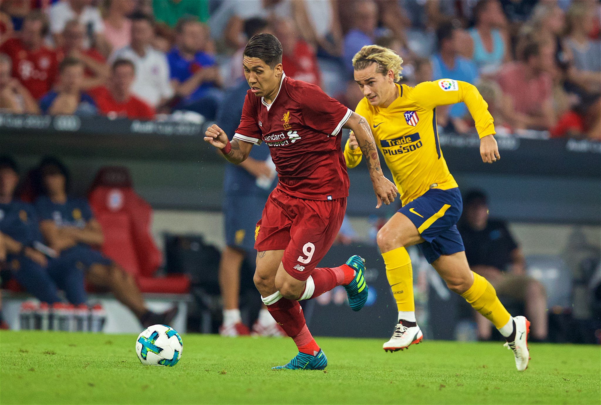 Atletico Madrid Pip Liverpool To Win Audi Cup