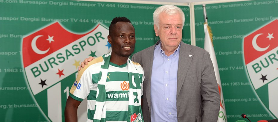 Ghana Star Badu: How Onazi Influenced My Bursaspor Move