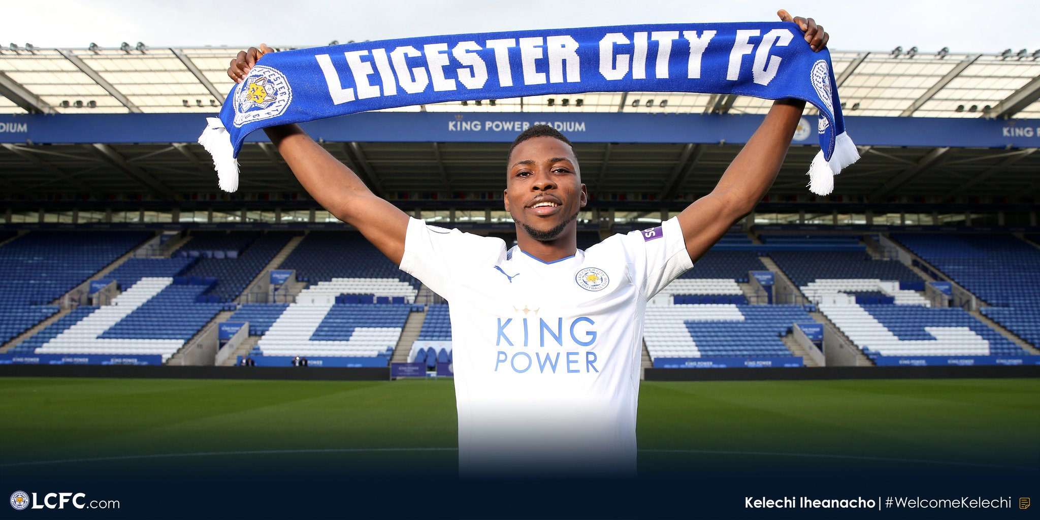 """Leicester Finally Complete £25m Deal For """"Happy"""" Iheanacho"""
