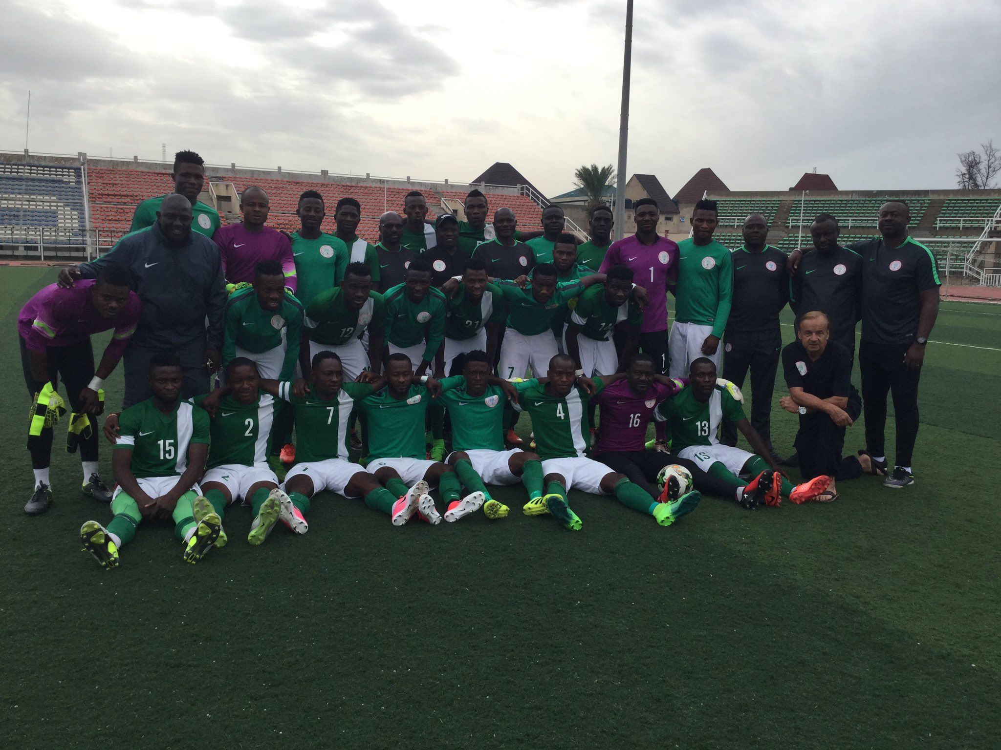 CHAN Eagles Outscore Kano Pillars Feeders In Friendly