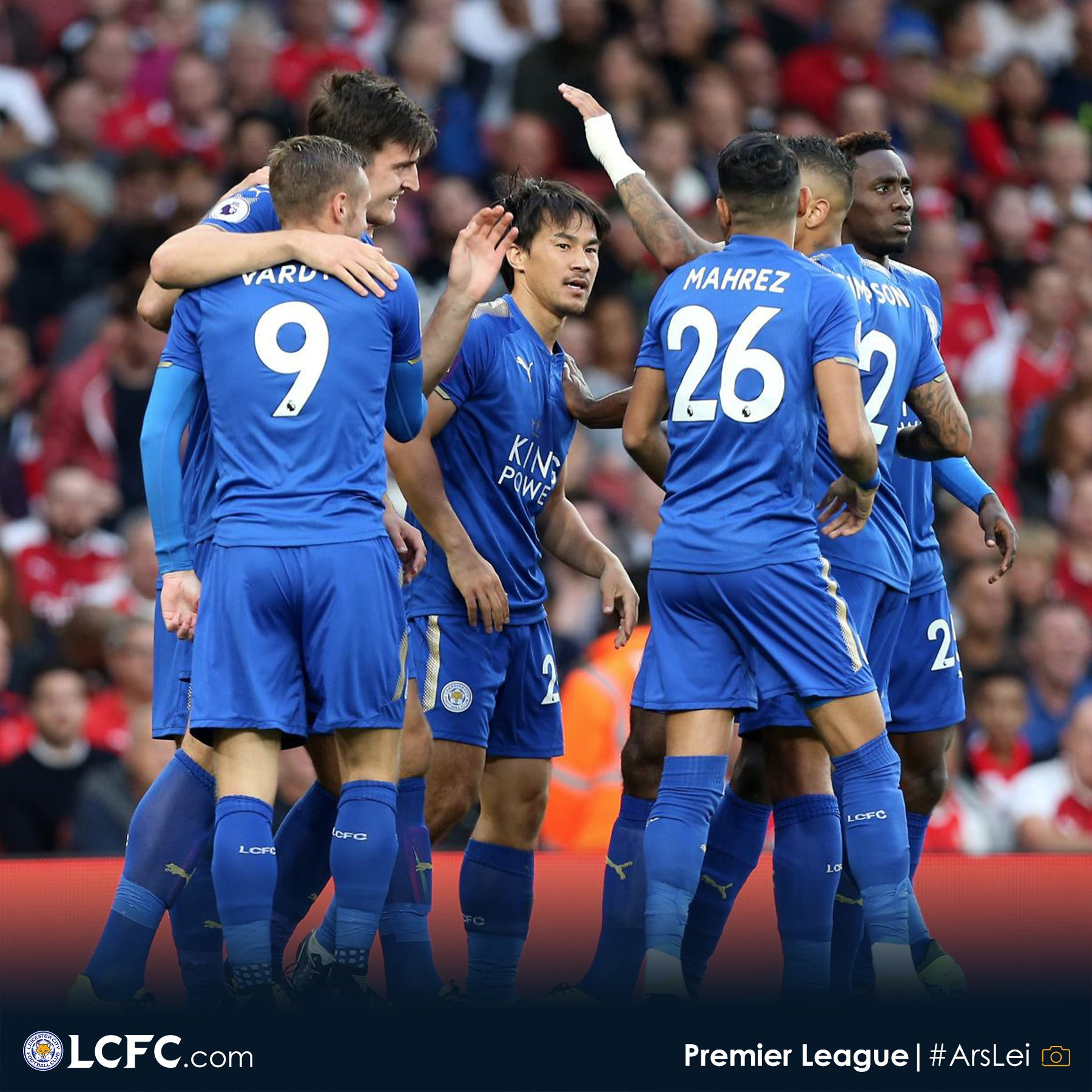 Ndidi, Iheanacho In Action, Iwobi Benched Arsenal Survive Leicester Scare