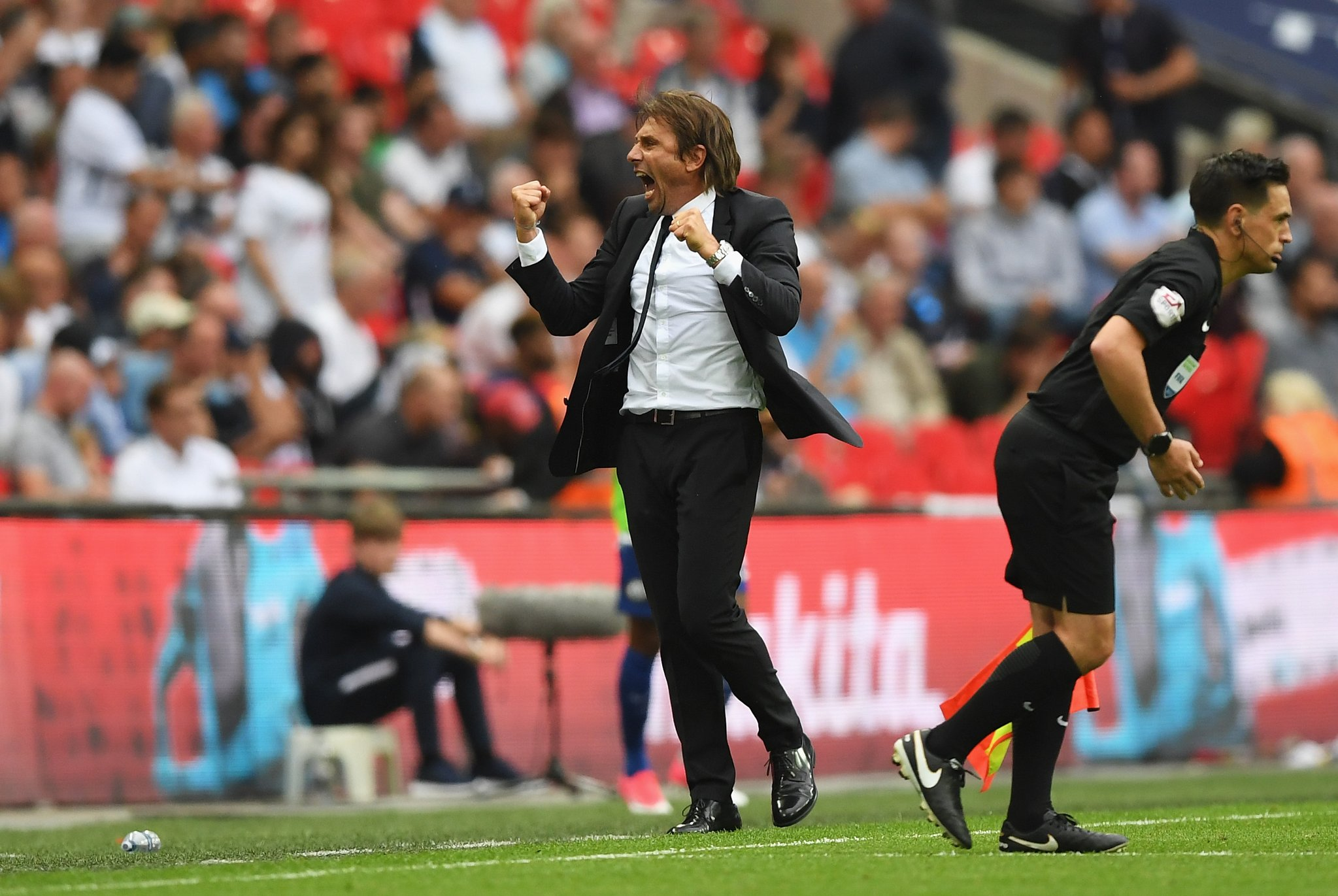 Conte Praises Luiz After Chelsea Win; Expects Morata, Bakayoko To Improve