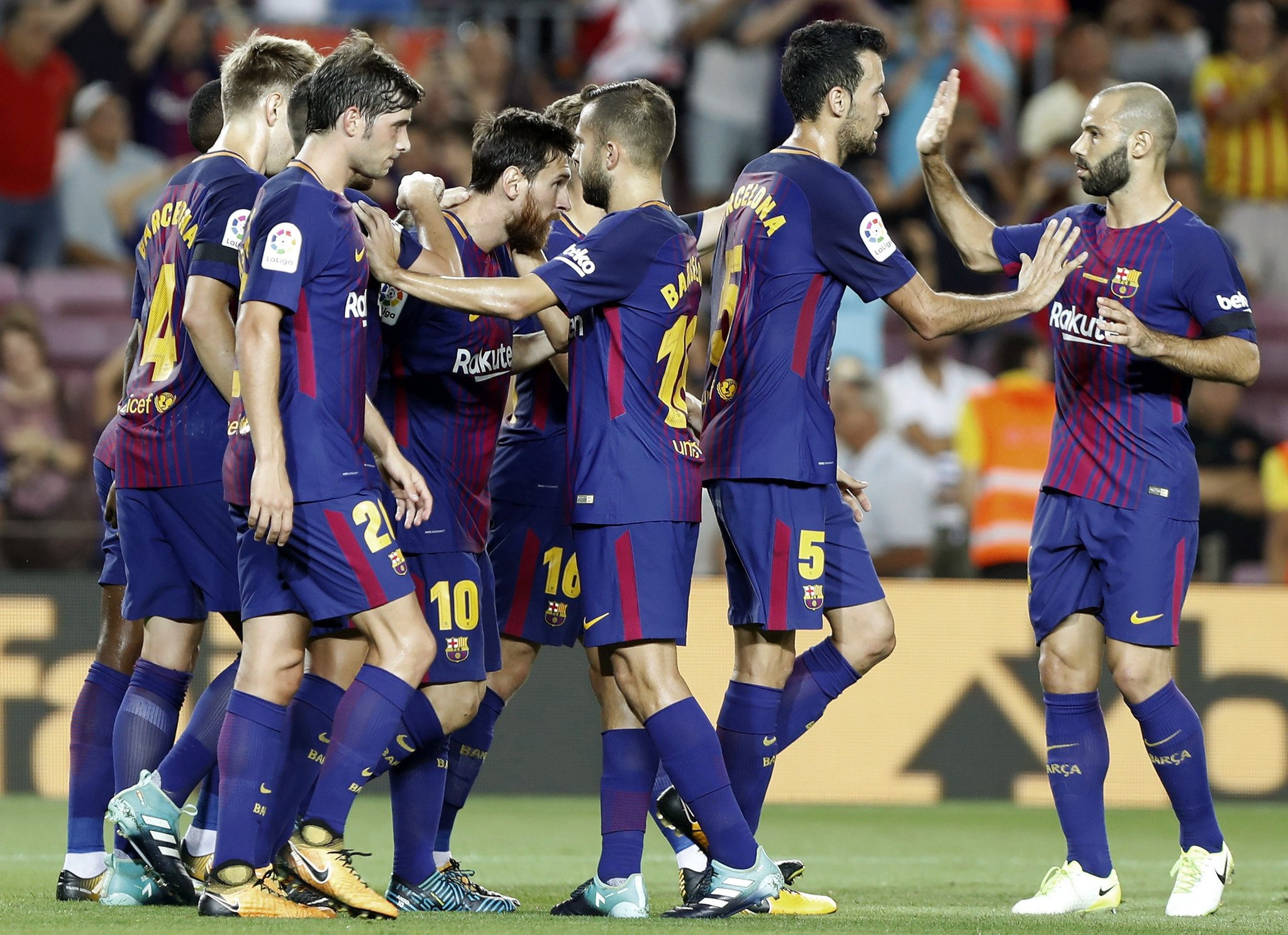 Barcelona Honour Terror Attack Victims In LaLiga Win