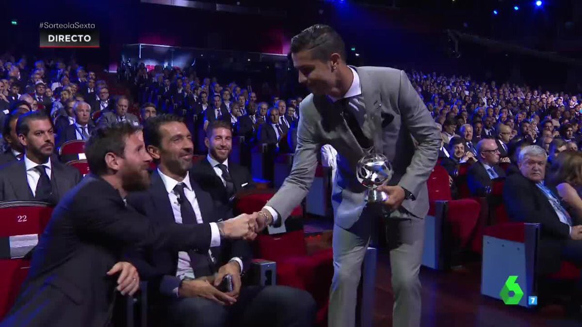 Ronaldo, Real Madrid Stars Sweep Champions League Awards