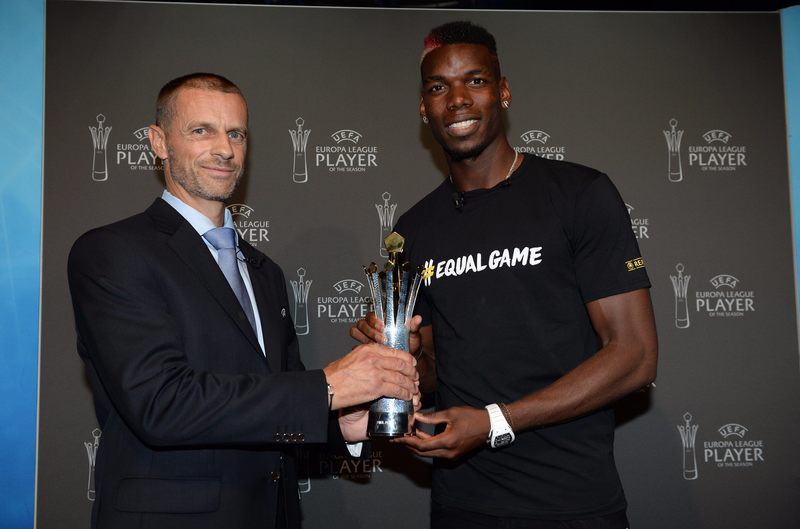 Pogba Wins Europa League Player Of The Season Award