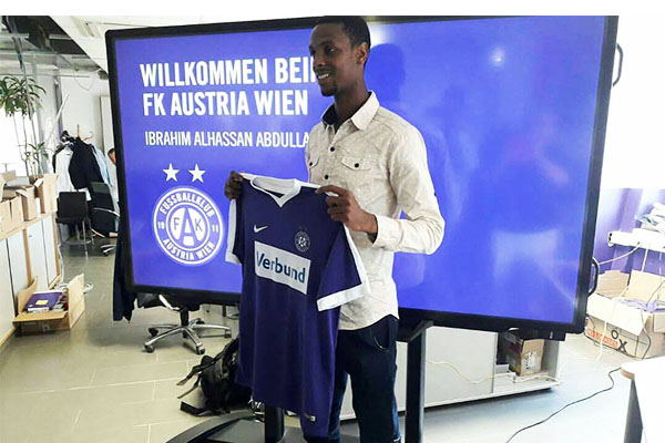 Akwa United's Alhassan Replaces Kayode At Austria Wien