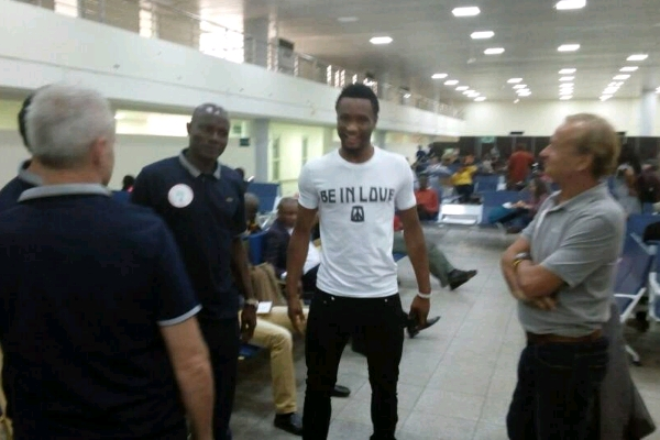 Mikel, Onazi, Iheanacho, 13 Other Eagles Hit Uyo For Cameroon